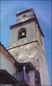 Der Kirchturm von Aratai