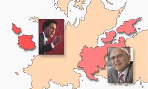 Neue Regierungschefs: Peter Paisley und Burkhard Bökelmann