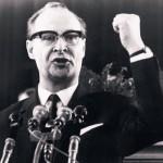 Fallois während seiner Ansprache